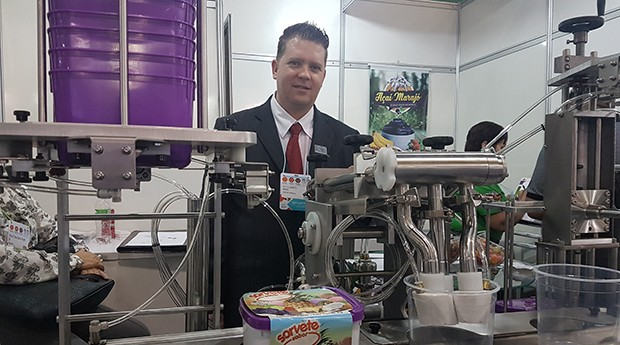 Bramak, máquinas envasadoras de sorvete (Foto: Débora Duarte)