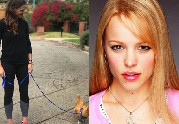 Jennifer Garner batizou galinha de estimação de Regina George, vilã de Meninas Malvadas (Foto: Reprodução/Instagram)