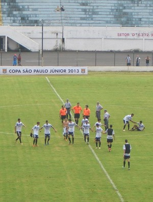 Comercial supera Paysandu pela Copa São Paulo de Futebol Júnior (Foto: Gabriel Lopes / Comercial FC)