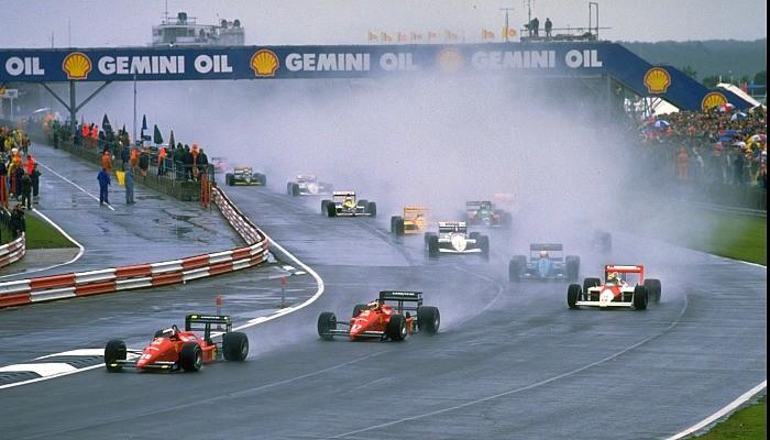 Largada do GP da Inglaterra de 1988
