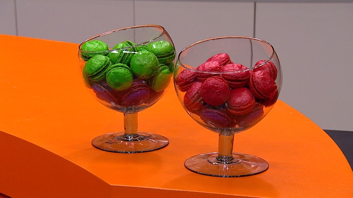 Macarons de damasco (Foto: TV Globo)