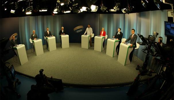 Debate RPC TV (Foto: Rubens Vandresen / RPC TV)