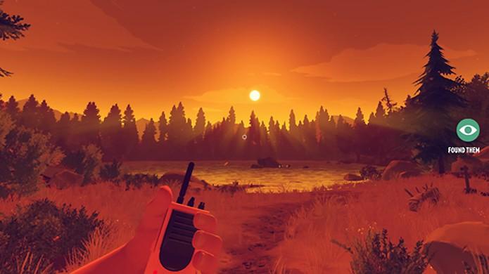 Firewatch ganhou um modo para jogadores explorarem o parque como um mundo aberto em atualização (Foto: Reprodução/Glixel)