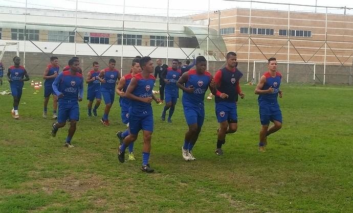 Raniere - treino MAC (Foto: Bruno Alves)