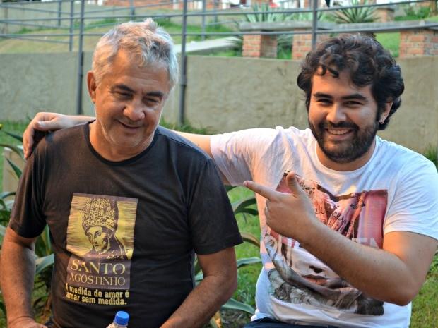 George e Naylor Acre (Foto: Tácita Muniz/G1)