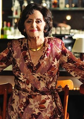 A atriz em 'A Grande Família' (Foto: TV Globo)