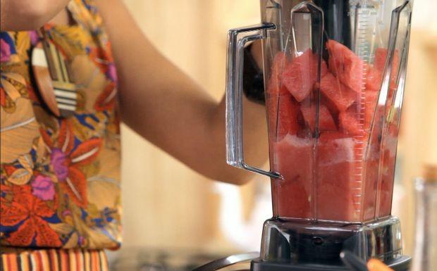 Bela Cozinha - Resto Donte - Suco de melancia com gengibre (Foto: Reproduo / GNT)