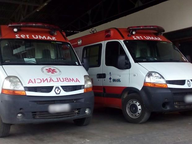 Ambulâncias só voltam a funcionar após regulamentação do serviço. (Foto: Felipe Valentim/TV Paraíba)
