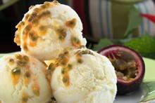 'A Cozinha Caseira de Annabel' - sorvete de limão-siciliano com gengibre