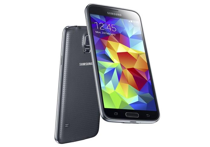 Galaxy S5 é o novo top de linha Android da Samsung com sensor de digitais e de batimentos cardíacos (Foto: Divulgação/Samsung)
