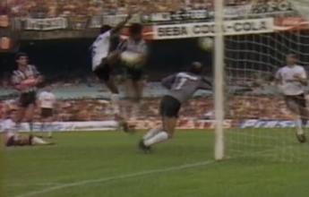 Na Memória: Bacharel dá a vitória ao Botafogo contra o Corinthians em 87