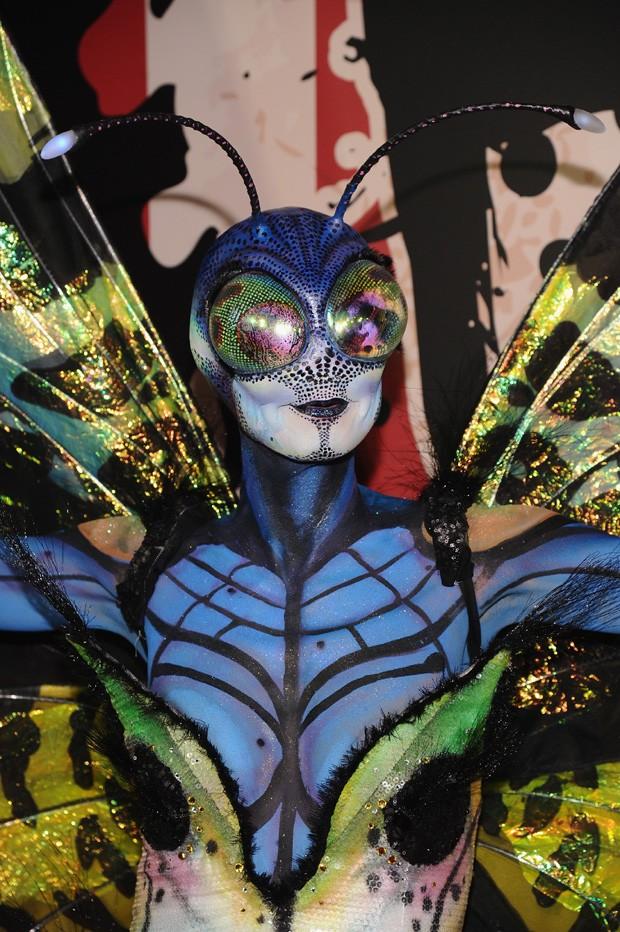 Fantasia de borboleta em 2014 (Foto: Getty Images)
