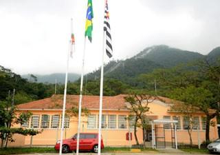 Escola Henry Borden é modelo em Cubatão (Foto: Henrique Ramos/Divulgação)