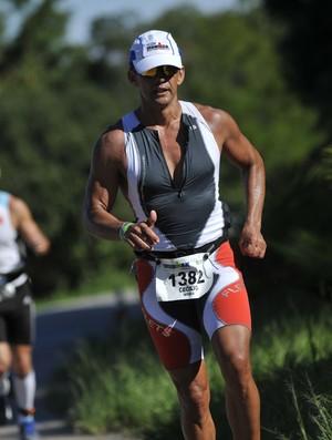 Potiguar Cecílio Barbosa no Ironman, em 2008 (Foto: Cedida/Arquivo Pessoal)
