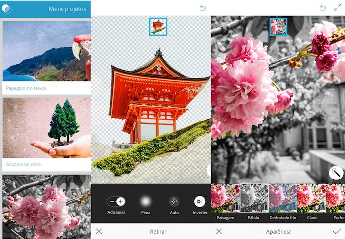 Photoshop Mix facilita e agiliza o melhoramento de suas imagens (Foto: Divulgação/AppStore)