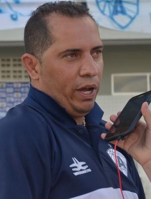 ederson araújo, técnico do atlético-pb, atlético de cajazeiras (Foto: Edgley Lemos / Globoesporte.com/pb)