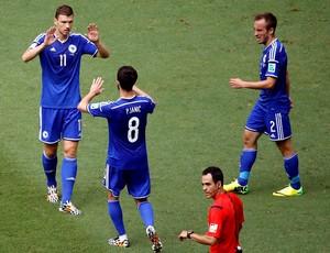 Dzeko bósnia (Foto: Reuters)