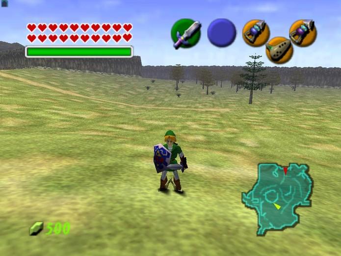 The Legend of Zelda: Ocarina of Time (Foto: Reprodução)