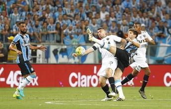 Análise do Galo: mínima organização contra solidez defensiva do Grêmio