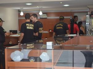 Operação da PF investiga empresários, donos de garimpo, joalheiros e pilotos de avião (Foto: Inaê Brandão/G1)