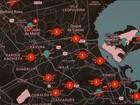 Aplicativo da Anistia Internacional mapeia guerra urbana no Rio