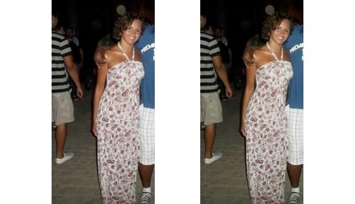 Antes e depois do uso do Liquify no Photoshop Fix (Foto: Divulgação/Raquel Freire)
