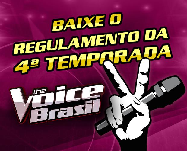 regulamento (Foto: The Voice Brasil/TVGlobo)