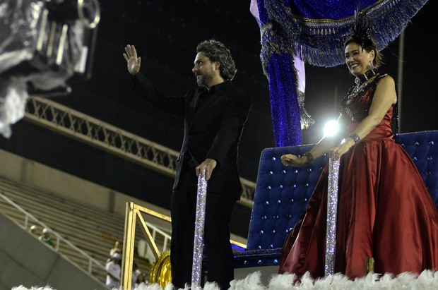 Alexandre Nero e Lilia Cabral (Foto: Roberto Teixeira/EGO)