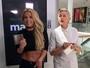 Britney Spears deixa barriga à mostra em gravação com Ellen Degeneres