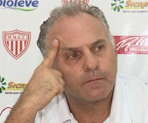 Toninho Cecílio, técnico Mogi Mirim (Foto: Reprodução EPTV)