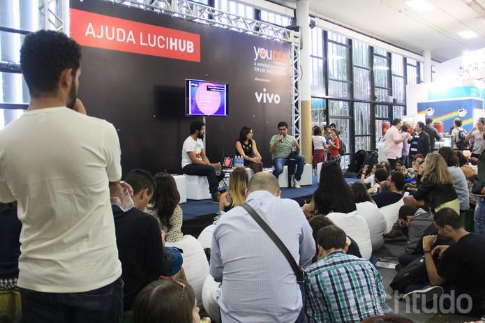 Conversa sobre ativismo no Twitter com Paulo Rená, gestor do Marco Civil da Internet (Foto:  Renato Bazan/TechTudo)