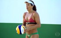 Larissa busca o ouro no vôlei de praia