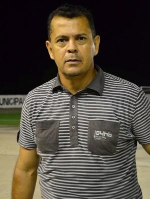Jazon Vieira, técnico do Auto Esporte (Foto: Juliana Bandeira / GloboEsporte.com/pb)