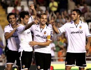 jonas valencia gol porto (Foto: Divulgação / Site oficial do Valencia)