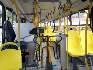 Passageiros terão que entrar pela frente nos novos veículos. (Foto: Gabriel Lima/ Agecom)