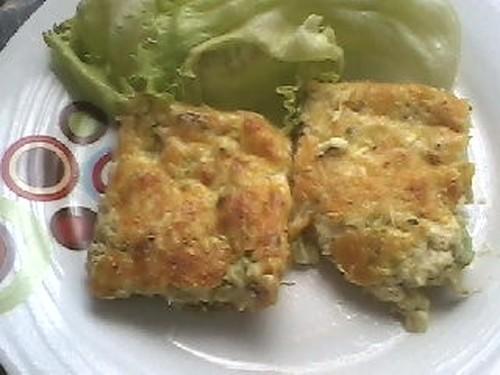 Torta de abobrinha com provolone by deborah garbez