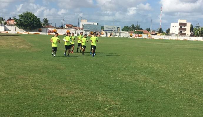 Botafogo-PB treino (Foto: Divulgação / Botafogo-PB)