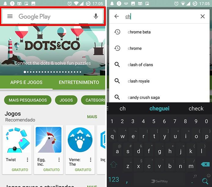 Chrome Beta pode ser baixado na loja de apps Play Store (Foto: Reprodução/Elson de Souza)
