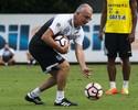 Dorival valoriza rivalidade, mas pede clássico com Palmeiras sem polêmicas