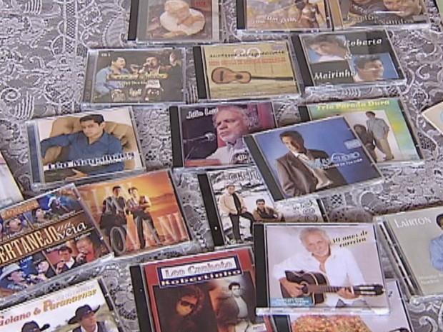 Artista bauruense tem mais de 30 anos de carreira (Foto: Reprodução TV TEM)