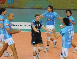 William Drean Bolivar clube argentino (Foto: Divulgação/Liga Argentina de Voleibol)
