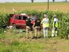 Passageiro morre e dois ficam feridos após carro capotar na BR-163 em MT