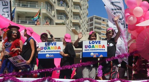 África do Sul é vista como refúgio por homossexuais perseguidos em países africanos (Foto: AFP)