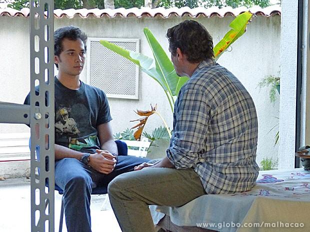 Ben fala que está decidido a trabalhar (Foto: Malhação / TV Globo)