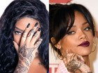 Ludmilla copia tatuagem de Rihanna, é criticada, e rebate: 'Prefiro ser feliz'