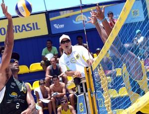 Pedro Solberg vôlei de praia Rio de Janeiro (Foto: Divulgação / CBV)