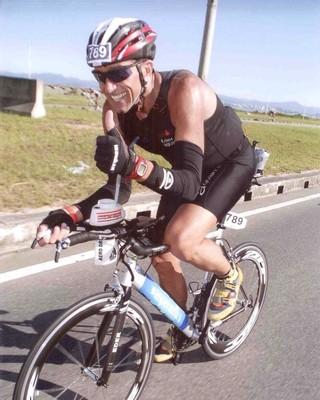 Éder Dias Ironman (Foto: Arquivo Pessoal)