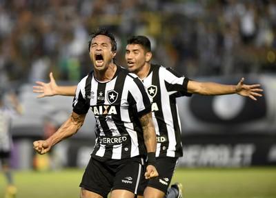 dudu cearense gol botafogo (Foto: André Durão / GloboEsporte.com)