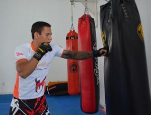 Bruno Viana, lutador (Foto: Lauane Sena)