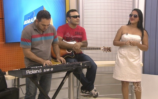 Grupo Antique Band faz show especial em Boa Vista (Foto: Roraima TV)